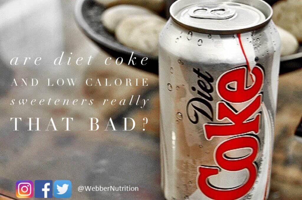 is diet coke better than regular coke