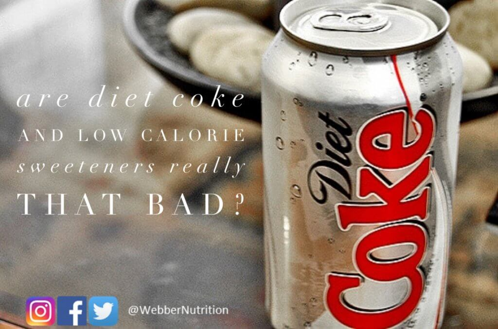 is diet coke healthier than regular coke